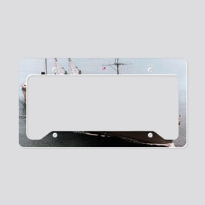canopus framed panel print License Plate Holder