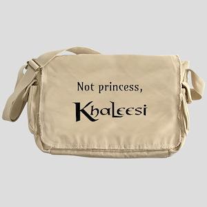 Not Princess, Khaleesi Messenger Bag
