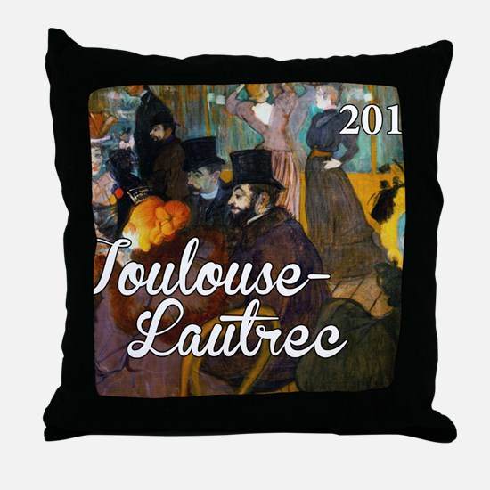 TL Cover Throw Pillow
