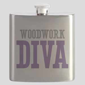 Woodwork DIVA Flask