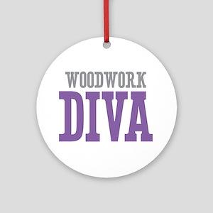Woodwork DIVA Ornament (Round)