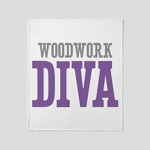 Woodwork DIVA Throw Blanket