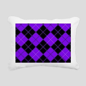 laptopskinpurpargyle Rectangular Canvas Pillow