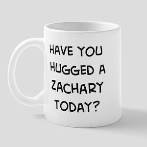 Hugged a Zachary Mug