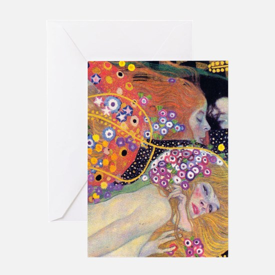 Klimt 14 Greeting Card