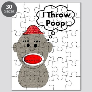 I throw poop 2012 Puzzle