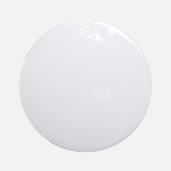dating_wh Round Ornament
