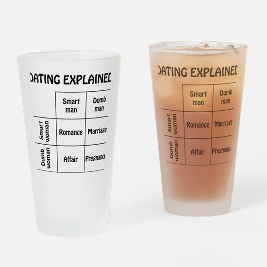 dating Drinking Glass