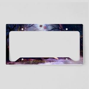 moonbathingshoulderb License Plate Holder