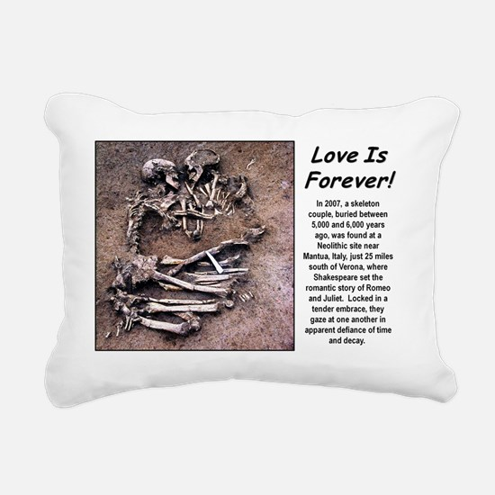 Love is Foever 2 Rectangular Canvas Pillow