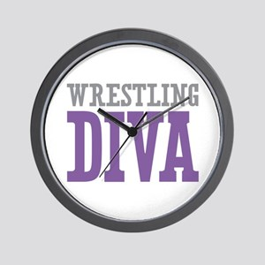 Wrestling DIVA Wall Clock