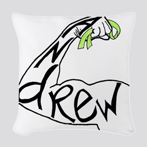 andrewribbon Woven Throw Pillow