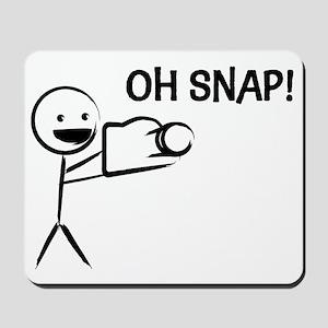 Oh Snap! Mousepad