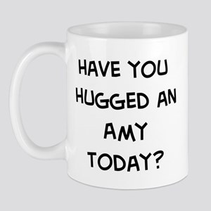Hugged a Amy Mug