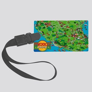 mexico2011so Large Luggage Tag