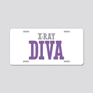X-Ray DIVA Aluminum License Plate