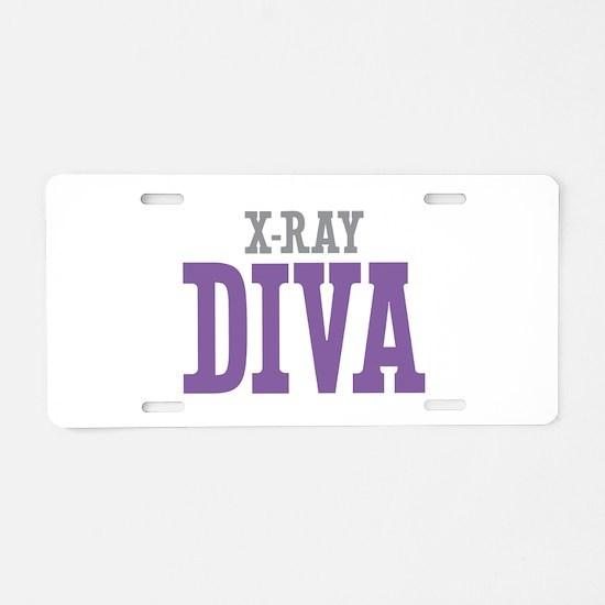 X-Ray DIVA Aluminum License Plate