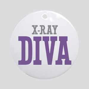 X-Ray DIVA Ornament (Round)