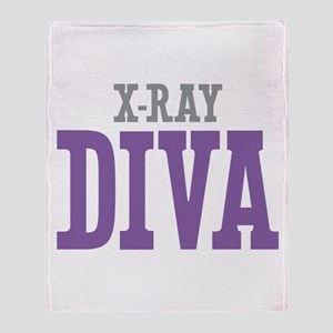 X-Ray DIVA Throw Blanket
