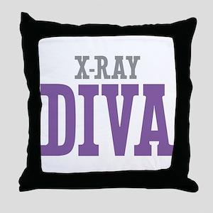 X-Ray DIVA Throw Pillow