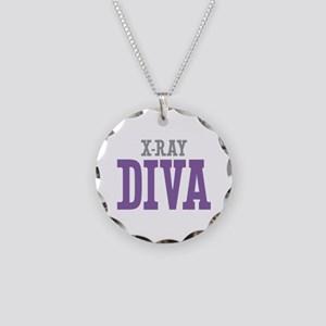 X-Ray DIVA Necklace Circle Charm