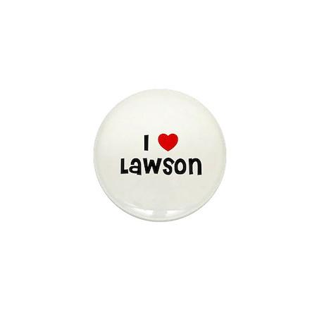 I * Lawson Mini Button (10 pack)