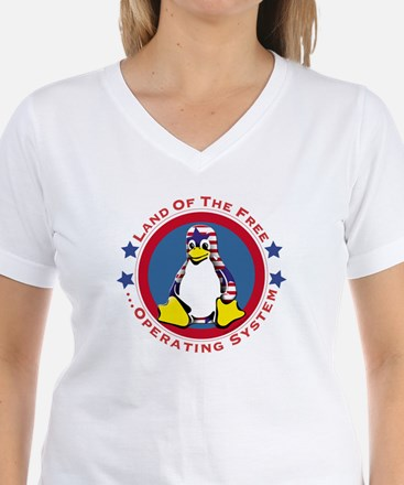 Tux - Land of the Free Shirt