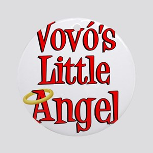 Vovos Little Angel Round Ornament