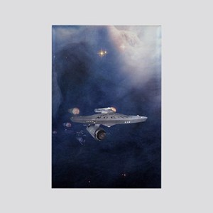 star trek mousepad Rectangle Magnet