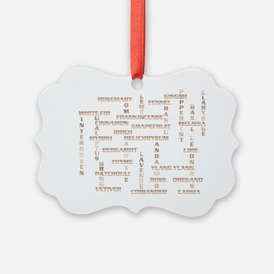 GoldSingleOilTypes Ornament