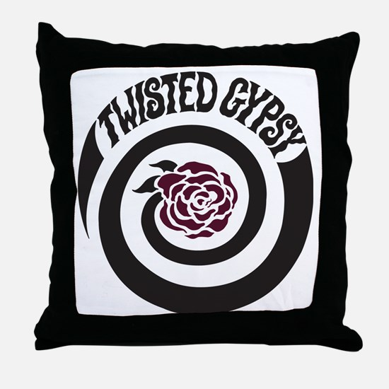 twisted gypsy Throw Pillow