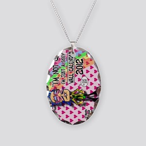NOT-GAY-12-cover-VERT Necklace Oval Charm