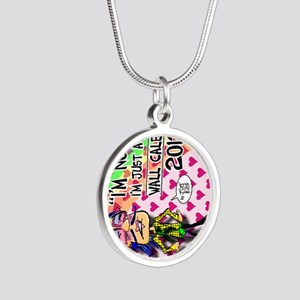 NOT-GAY-12-cover-VERT Silver Round Necklace