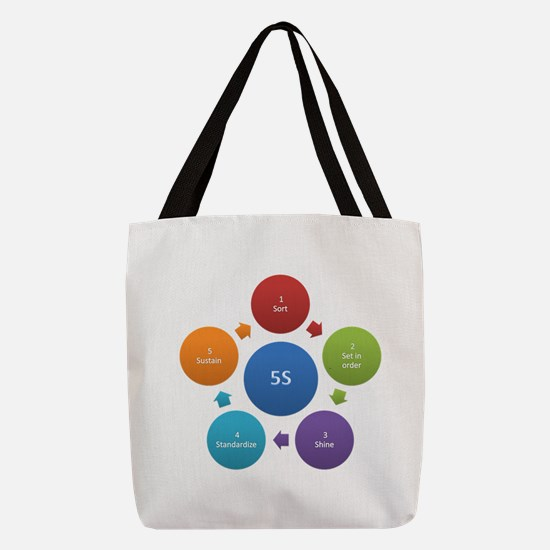 5S rules Polyester Tote Bag