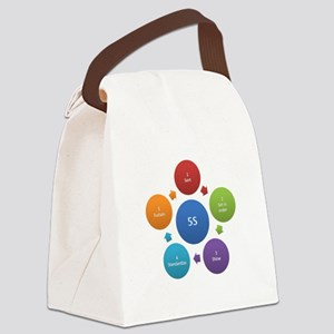 5S rules Canvas Lunch Bag