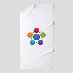 5S rules Beach Towel