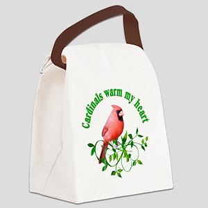 cardinals Canvas Lunch Bag