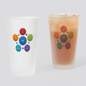 5S rules Drinking Glass