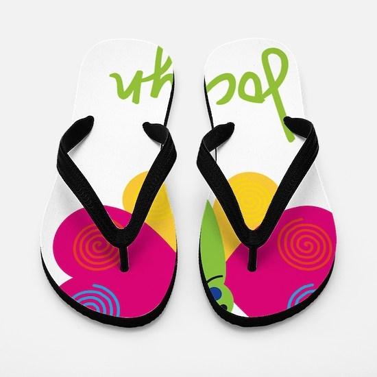 Jocelyn-the-butterfly Flip Flops
