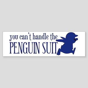 Penguin Suit Tee Sticker (Bumper)
