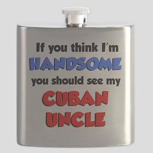 Handsome Cuban Uncle Flask