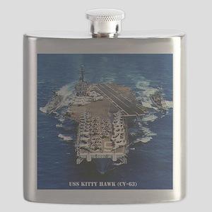 khawk cv framed panel print Flask