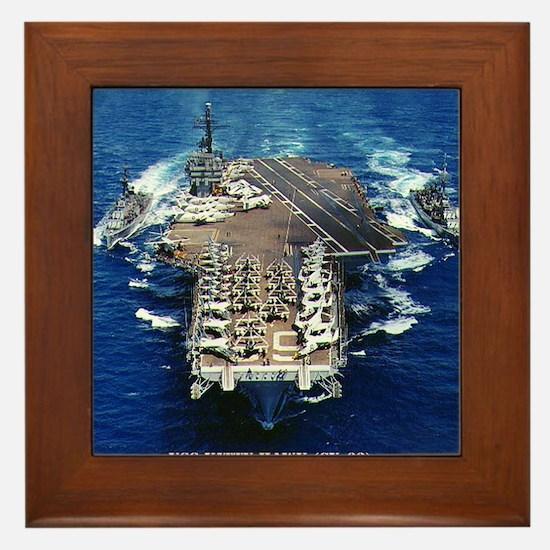 khawk cv framed panel print Framed Tile