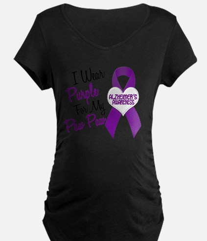 D I Wear Purple 18 Paw Paw  T-Shirt