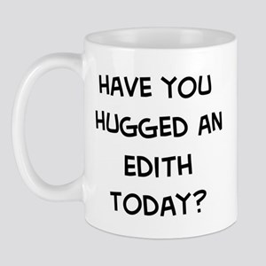 Hugged a Edith Mug