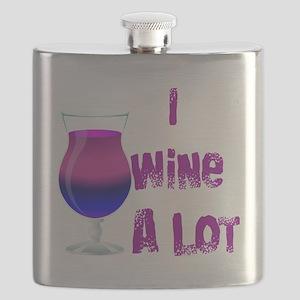 I Wine Alot Flask