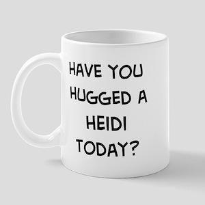 Hugged a Heidi Mug