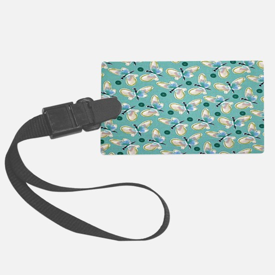 Butterfly Roundup Luggage Tag