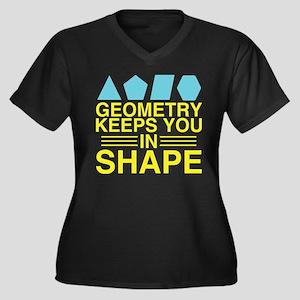 Math Geometry Plus Size T-Shirt