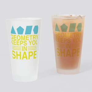 Math Geometry Drinking Glass